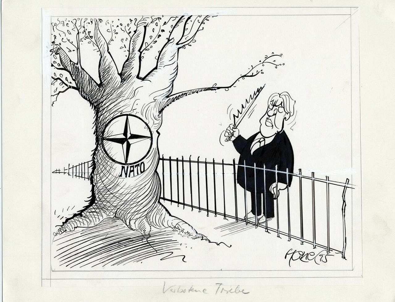 Karikatur Verbotene Triebe