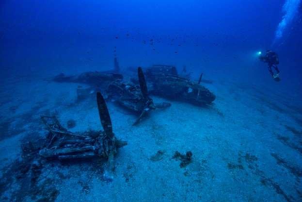 aircraft wreck